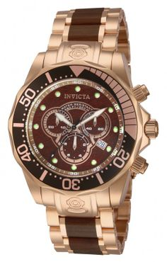 Invicta 13791 aka Gold Woody. My new fav.  Rose gold with real wood face and link accents.