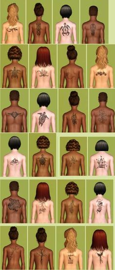 My Sims 3 Blog: New Tattoos by Amylet