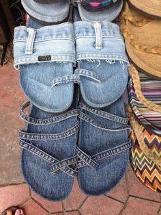 Des idées récup' de vieux Jeans                                                                                                                                                                                 Plus