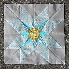 June Lucky Stars BOM - The Sunlight Star   Flickr - Photo Sharing!