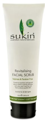 Revitalising Facial Scrub (125ml) - Face Care - Sukin Australian Natural Skincare products, Best Natural Skincare