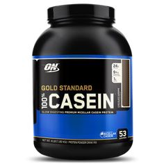 Optimum Nutrition Gold Standard Casein is a Slow Digesting Micellar Casein Protein. An Excellent Source of Protein, BCAAs, Essential Amino Acids, and Leucine. Casein Protein Powder, Protein Powder Reviews, Egg Protein, Best Protein Powder, Protein Foods, Protein Recipes, Protein Products, Protein Cookies, Protein Bars