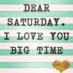 big time <3 #saturdaylove