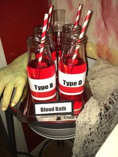 Blood Bath drinks