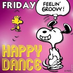 Good morning charlie brown peanuts, peanuts gang, peanuts cartoon, snoopy c Happy Friday Dance, Snoopy Happy Dance, Happy Friday Quotes, Happy Quotes, Funny Quotes, Friday Sayings, Dancing Snoopy, Life Quotes, Happy Wednesday