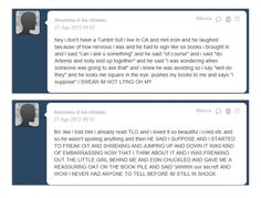 This is what happens when I go on Tumblr. Random screenshots of heart-stopping revelations that never came true.