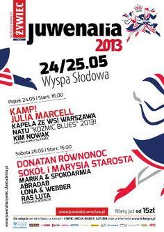 Juwenalia Kulturalia - Kim Nowak, Natu, Kapela ze Wsi Warszawa, Julia Marcell, Kamp!, Laureat Famy - Pod patronatem Gdzieco.pl
