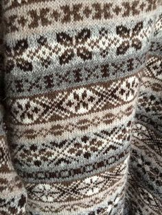 . Fair Isle Knitting Patterns, Fair Isle Pattern, Knitting Stitches, Hand Knitting, Crochet Patterns, Fair Isles, How To Purl Knit, Pattern Library, Crochet Projects