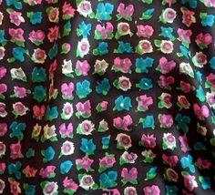 Vintage Silk Twill from the 1960's, Usa.  At Charlotte Bialas , 5 Rue Debelleyme 75003 Paris. www.charlottebialas.com/eshop