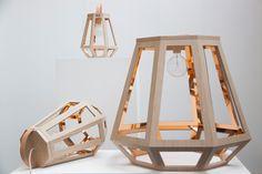 ZUID Lamps by Françoise Oostwegel