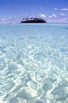 Muri Lagoon, Rarotonga in the Cook Islands: Gorgeous.