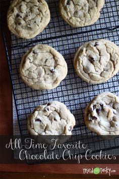 All-Time Favorite Chocolate Chip Cookies // Tried and Tasty