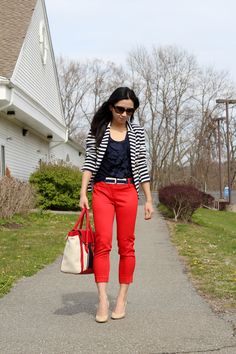 Need to wear my Jcrew tank with my red jeans