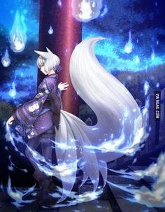 Magical Kitsune Girl!