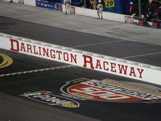 Darlington Raceway, Darlington, SC.  Racing a southern tradition.