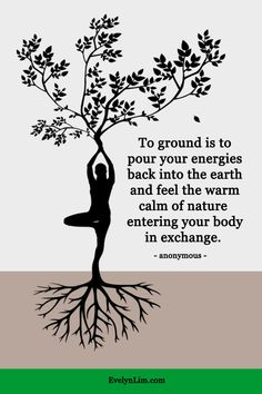 How to Ground Yourself in 7 Ways - Practice Spiritual Grounding to Mother Earth. Grounding Exercises, Earthing Grounding, Grounding Crystals, Mother Earth Tattoo, Earth Quotes, Aesthetic Themes, Yoga Videos, Holistic Healing, Good Vibes Only
