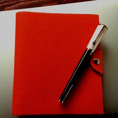 Hermes Ulysses PM notebook & Montblanc pen