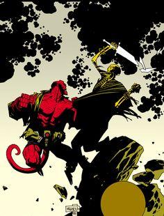 Hellboy — Mike Mignola