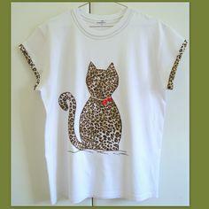 Artes da Nique: Customização de blusa com aplique em tecido