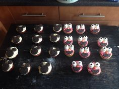Not too bad elmo and Micky cakes for the party tomorrow
