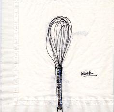 whisk fouet choisir thématiques et objets associer pour se faire un banque d'images dessins (entraînement, observation)