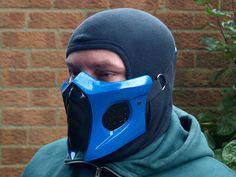 Mortal Kombat Sub-Zero Smoke Alt. Cosplay mask by HiddenAssassins