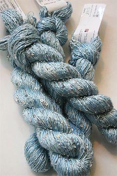 Artyarns Beaded Silk and Sequin yarn