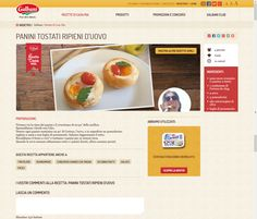 Concorso Galbani avanzi 2 http://www.galbani.it/ricette/panini_tostati_ripieni_d_uovo_di_Ladynady.html