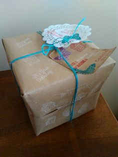 Empaque de regalo piñata