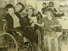Joe Strummer visiting kids in hospital: