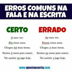 Build Your Brazilian Portuguese Vocabulary Common Quotes, Learn Brazilian Portuguese, Portuguese Lessons, Portuguese Language, French Class, Learn A New Language, Student Life, Good Books, Improve Yourself