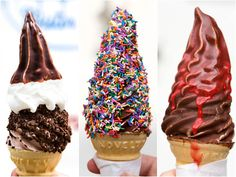 Mister Softee ice cream hacks via serious eats. This just made my entire summer about a billion times better!