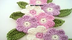 ... if you like this video please share this video and subscribe my channel.. Crochet, Tutorial, Flower, Crochê, Easy, Tuto,