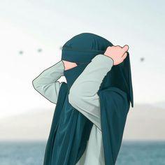 Hijabers fanart - 2 - Wattpad Best Friends Cartoon, Friend Cartoon, Cute Muslim Couples, Muslim Girls, Cartoon Girl Images, Girl Cartoon, Moslem, Hijab Drawing, Islamic Cartoon