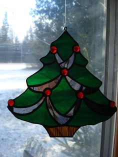 Christmas Ornaments - Delphi Stained Glass