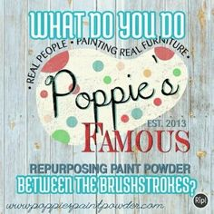 What are you painting today? Its so easy to transform any piece of furniture with Poppie's Paint Powder. We love how it even covers over black with just about a coat and a half. Go to www.poppiespaintpowder.com to learn more!  #reheirloomer #nancyolliver #poppies #poppiespaintpowder #famousproducts #repurposed #repurposingpowder #diychalkpaint #chalkpaint #daddyvans #daddyvanswax #shabbychic #chalkpainting #betweenthebrushstrokes #creativeentrepreneur #paintedfurniture #diyworkshops…