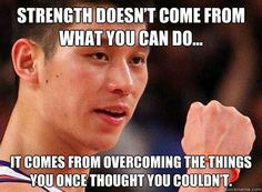 Jeremy Lin's no Bruce Lee, but he knows where true strength comes from, God. Athletic Quotes, Boys Gymnastics, Jeremy Lin, Graduation Quotes, Word Up, More Than Words, Bruce Lee, Quotes About Strength, Dating Tips