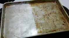 Vos cookies sortent à peine du four que vous pensez déjà au nettoyage de la plaque à pâtisserie ? Ne vous en fait plus. Voici l'astuce pour facilement nettoyer la plaque sans frotter. Tout ce do