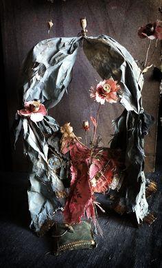 The Sleeping Beauty, paper work, La belle au bois Dormant. By MissClara