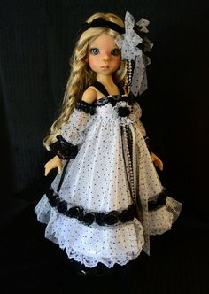 """SOLD """"Through the Looking Glass""""Dress,Outfit,Clothes for 18""""Kaye Wiggs MSD,BJD #ClothingAccessories"""
