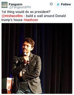 Misha Collins #nashcon2016