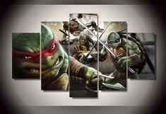 Turtle Dekorationen Für Zu Hause Haus Schildkröte-Dekorationen Für zu Hause ist ein design, das sehr beliebt ist heute. Design ist die Suche zu machen, die machen das Haus, damit es modern... Canvas Poster, Canvas Artwork, Canvas Frame, Poster Prints, Canvas Prints, Home Design, Multi Canvas Art, Wall Art Sets, Teenage Mutant Ninja Turtles