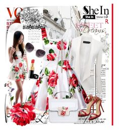 Shein XI/8 by lip-balm on Polyvore featuring polyvore, fashion, style, Chanel and shein