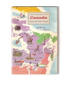 Vintage Book of Canada Canadian History and by EclecticEmbrace