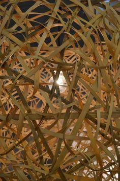 Inspiratie materiaal en verlichting van Ay illuminate. — in Parijs.