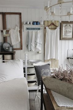 French flea market style and lots of neutrals
