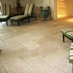 More Opus Romain floor tiles for this commercial swimming pool job. #Floor #Harrogate #York #Limestone #Tiles #OpusRomain www.prdceramics.co.uk