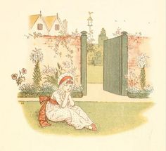 Little Ann, a book by Kate Greenaway 1880 - Plate 20 | Flickr