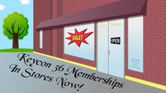Happy Father's Day! Still need to run out and get a last minute gift? You're in luck, Keycon 36 memberships can be bought at these…