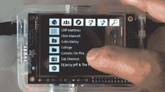 "Lifehacker""> Make a touchscreen jukebox to fit in the palm of your had with Raspberry Pi. via Lifehacker You have a ton of options for accessing your computer's music library from your ste… Computer Projects, Electronics Projects, Electrical Projects, Computer Engineering, Electrical Engineering, Diy Tech, Cool Tech, Tech Tech, Tech Art"